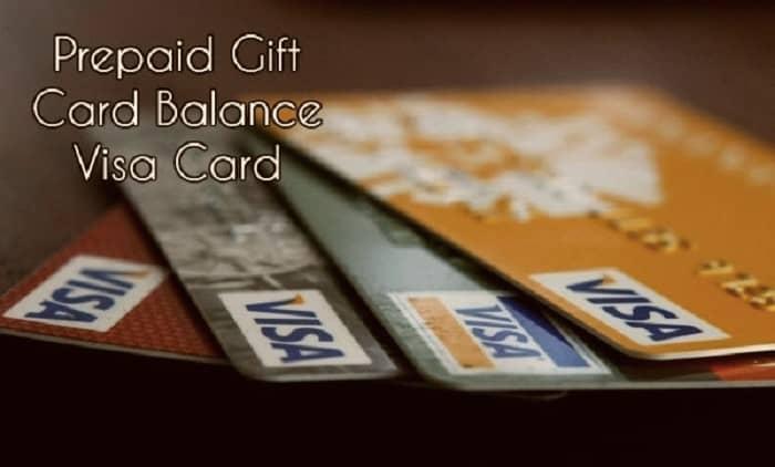 PrepaidGiftBalance-VisaCard